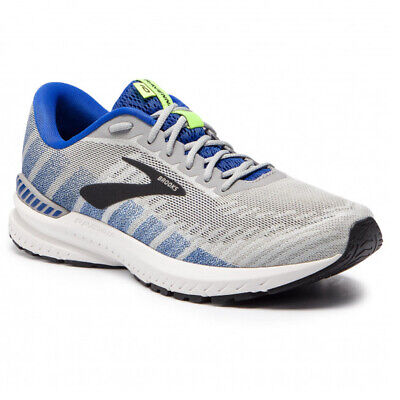 BROOKS RAVENNA 10 MENS BLUE SUPPORT GYM RUNNING TRAINERS SHOES UK 9.5 10