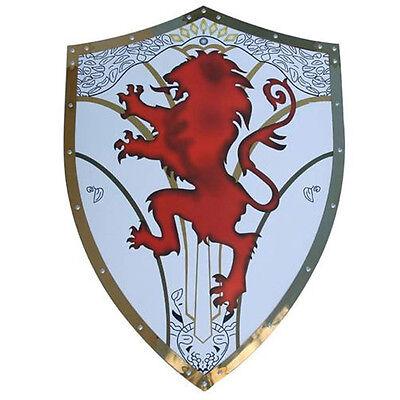 Medieval Richard English Knight Crusader Warrior The Lionheart Shield Armor (Medieval Shields)