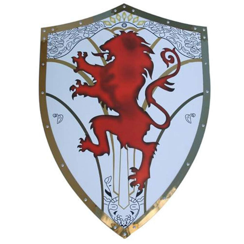 Medieval Richard English Knight Crusader Warrior The Lionheart Shield Armor