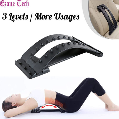 Magic Back Stretcher Lower Lumbar Pain Acupuncture Back Massager Posture Relief