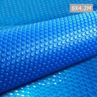 AUS FREE DEL-8m X 4.2m Solar Swimming Pool Cover Bubble Blanket