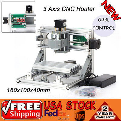 1610500mw Mini Laser Cnc Router Engraver Machine Wood Pcb Milling Carving 500mw
