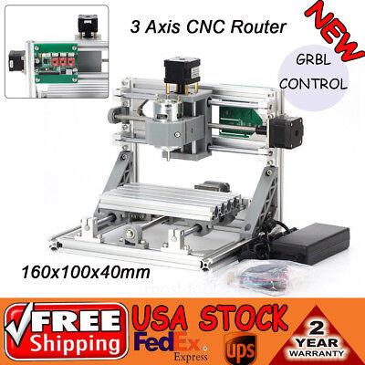 1610500mw Mini Laser Cnc Router Engraver Machine Wood Pcb Milling Carving 500mw