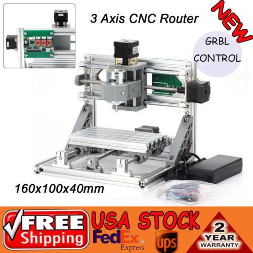 1610+500mw Mini Laser CNC Router Engraver Machine Wood PCB Milling Carving 500MW