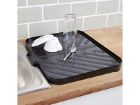 Worktop Drainer Tray - Silver
