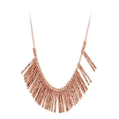 Gorjana Kylie Fan Rose Gold Necklace 165105R
