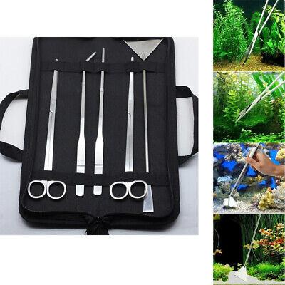 5x acuario pecera de mantenimiento herramienta de paisajismo limpiador de algas
