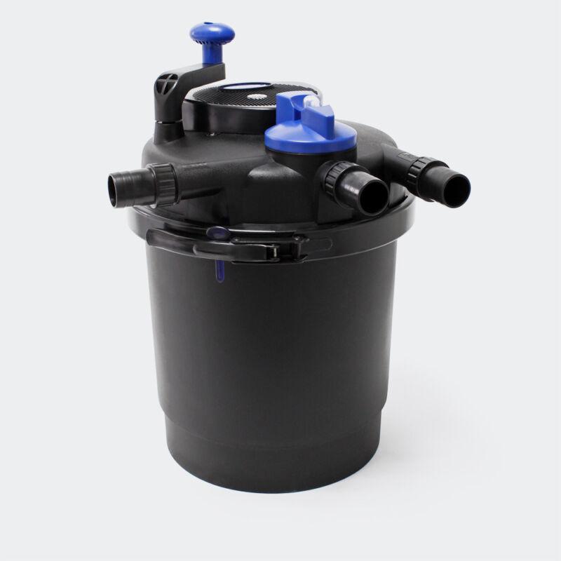 1600 gal UV BIO-FILTER Pond Pressured 13w Filter Pressurized Algae Free