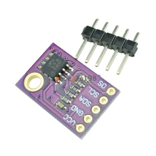 Lm75a Temperature Sensor High-speed I2c Interface Development Board Module Good