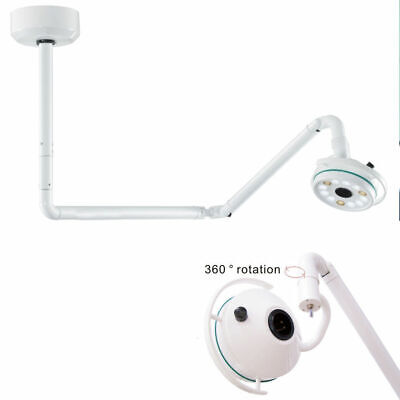 36w Ceiling Mounted Surgical Led Exam Cold Light Medical Shadowless Lamp 800mm