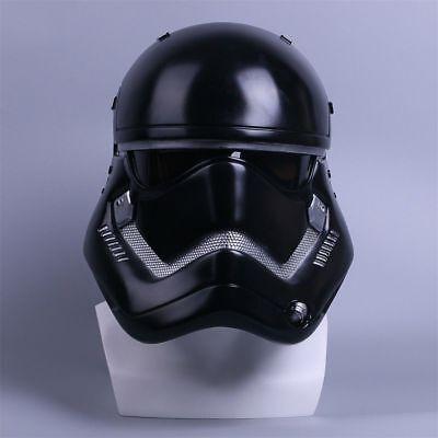 Star Wars Helmet Cosplay The Force Awakens Stormtrooper Helmet Black Mask New