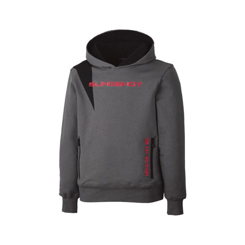 Polaris Youth Boys Fuel Pullover Slingshot Hoodie Warm Comfy Sweatshirt Gray