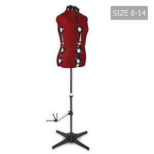 Adjustable Dressmaking Mannequin SZ8-14 - Wine Melbourne CBD Melbourne City Preview