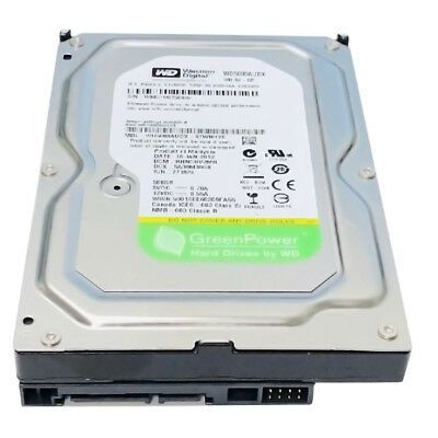 WD 500GB SATA3 32MB Cache 7200RPM 3.5