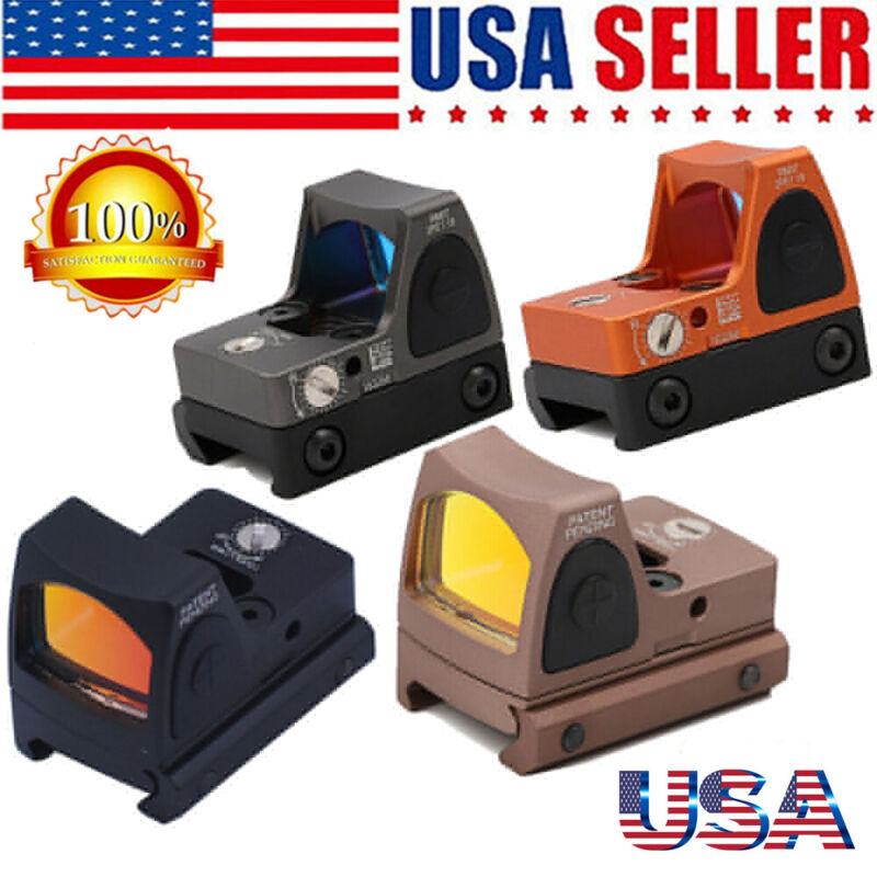 RMR 3.25 MOA Red Dot Reflex Sight LED Adjustable Glock Pistol Scope Hunt 45mm
