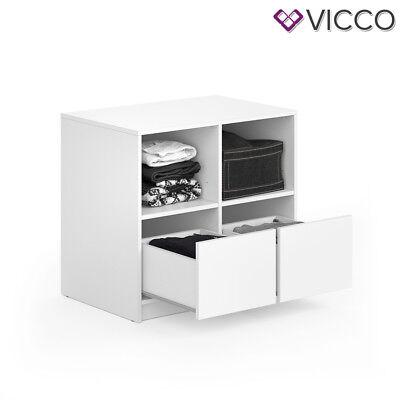Vicco Schubladenset VISIT - zweiteilig Regal Schlafzimmer Umkleide Erweiterung