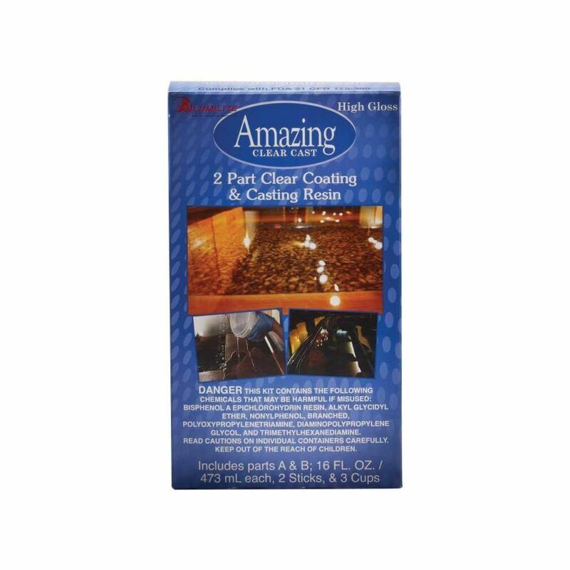 Alumilite Amazing Clear Cast Resin 32oz 10591