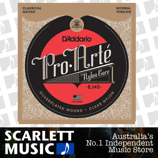 D'Addario EJ45 Pro Arte Normal Nylon Classical Guitar Strings Daddario EJ-45