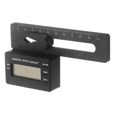 Digital Pitch Gauge (GoolRC LCD Digital Pitch Gauge for Align TREX 150-700 Flybarless Helicopter DE)