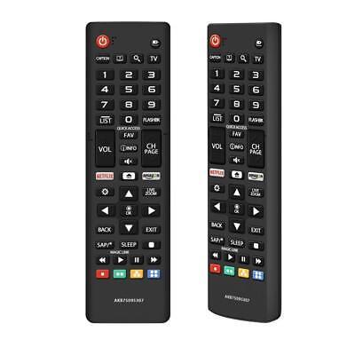 New AKB75095307 Remote Control Works for  LG HDTVs, 4K, OLED, LED, and Smart