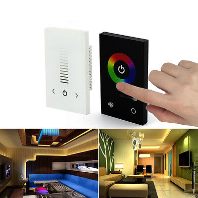 Glass Touch Panel Dimmer Controller /Switch 12-24V for 5050 2835 LED Strip Light Glass Touch Controls