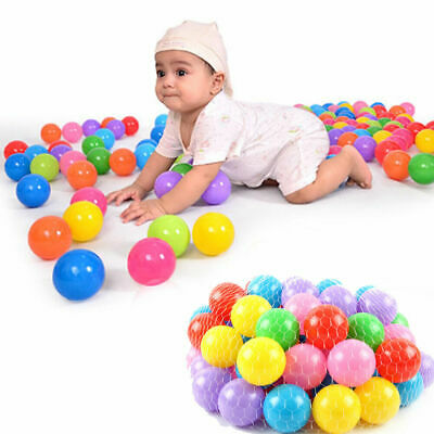 Baby Ball Pits (new 200pcs Colorful Soft Plastic Ocean Ball 70MM Safty Secure Baby Kid Pit)