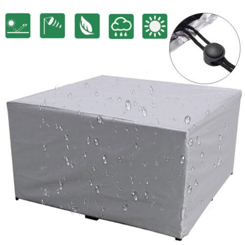 waterproof outdoor garden patio furniture cover rectangular