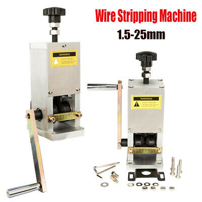 Manual Aluminum Wire Stripping Machine Copper Cable Stripper Drill Connector