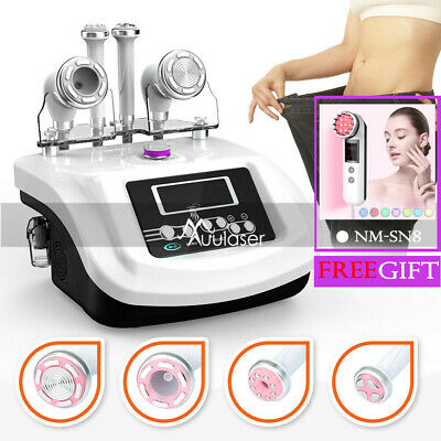 S-shape Ems Electroporation Vacuum Face Spa Machine Suction Body 30k Cavitation