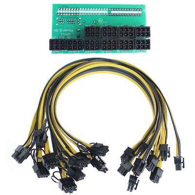 Best Breakout Board +10pcs Cable for HP 1200w/750w Power Module Mining (Best 750w Power Supply)