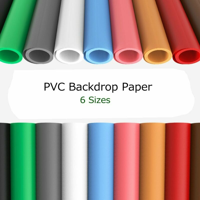 Backdrop PVC Matte/Glossy Background Paper for Studio Photo Shooting Photography