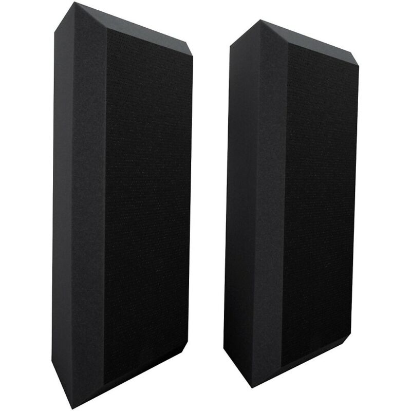 Ultimate Acoustics Acoustic Bass Trap with Vinyl Coating - Bevel (2 Pack) LN