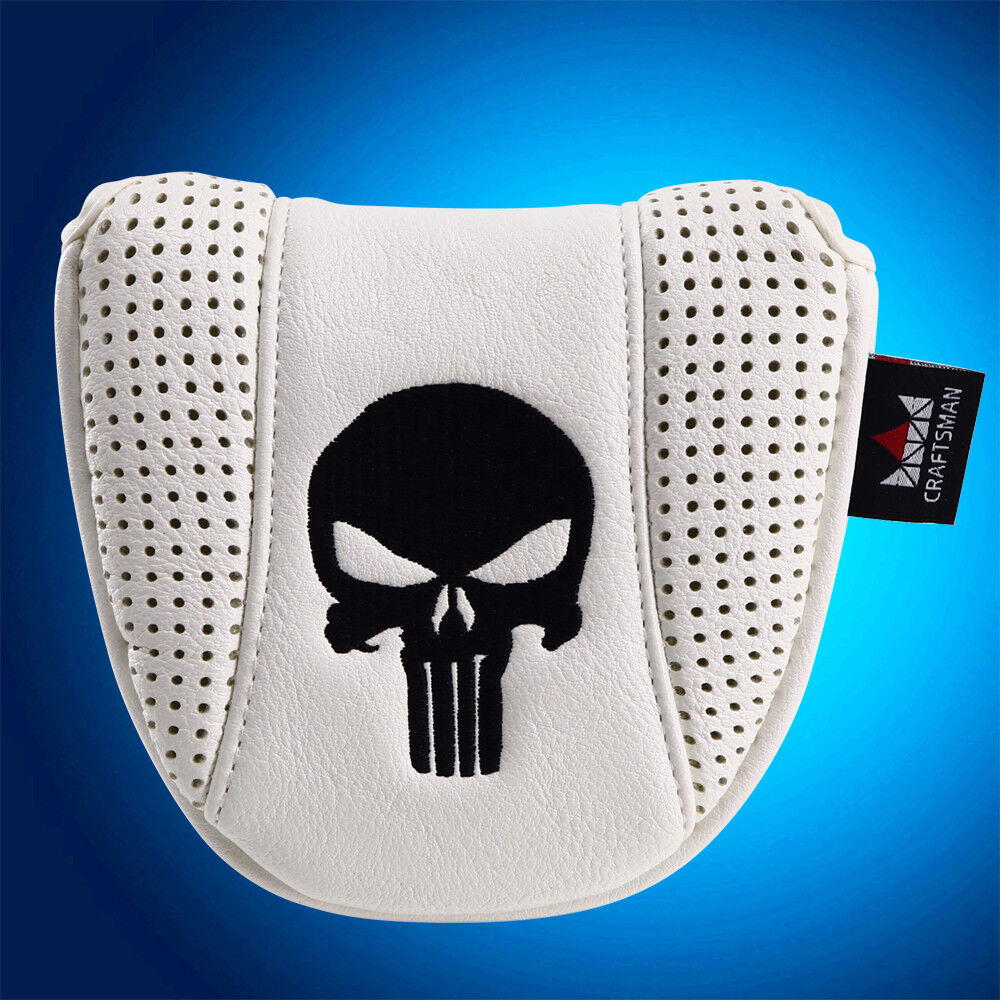 Skull Golf Mallet Putter Cover Headcover For Scotty Cameron