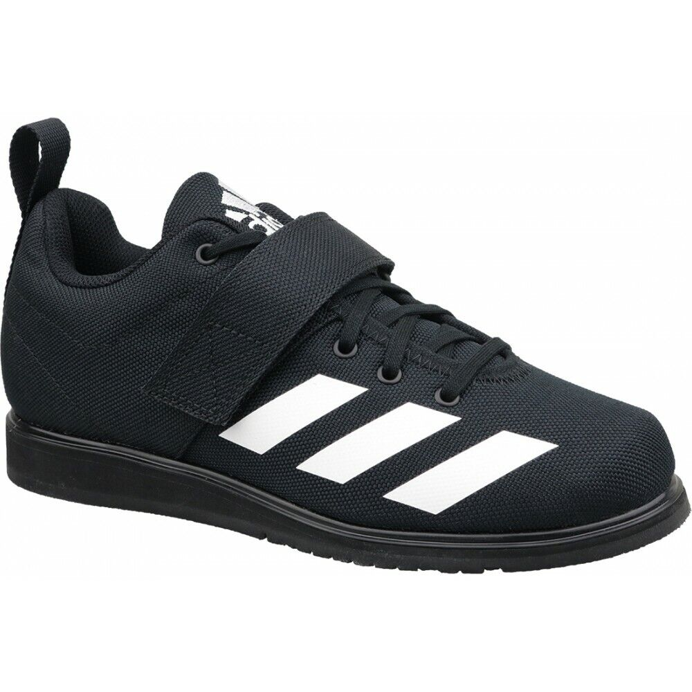 Mens Adidas Powerlift 4 Black Weightlifting Athletic Sport Shoe BC0343 Size 8 14