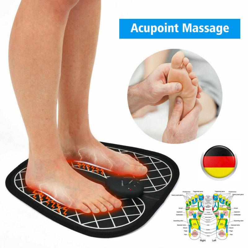 EMS Fußmassage FußMassagegerät Shiatsu Reflexzonen Massage Linderung Schmerzen