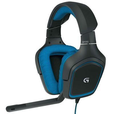 Logitech G430 Surround Sound Gaming Usb Wired Headset 981 000536