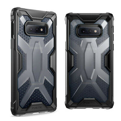For Samsung Galaxy S10e Case [Poetic] Shockproof Lightweight Hard Cover Black
