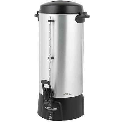 100 Cup Aluminum Coffee Urn Coffee Urn 3.9 Gallon Commercial Restaurant Church