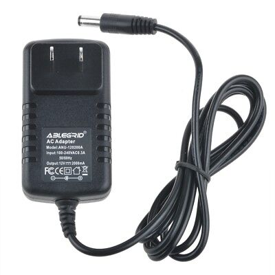 12V AC Adapter Charger Power For Motorola Sb5100 Sb5101 Sb5120 Cable Modem