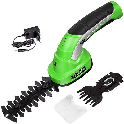 2 in 1 Cordless Garden Tools Hedge Trimmers Electric Trimmer fit Shrubbery Grass