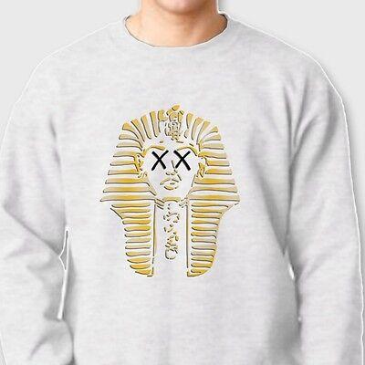 FADED PHARAOH Swag King T-shirt Dope College Cool Crew Neck (Pharaoh Sweatshirt)