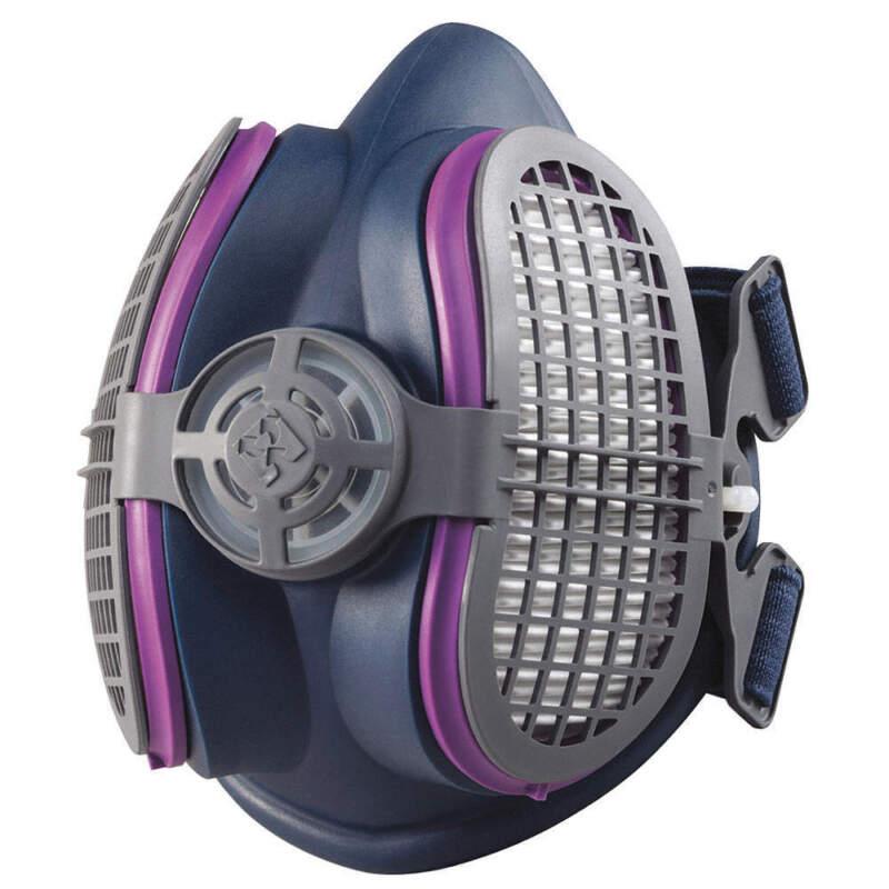 Half Mask Respirator,Push-Connect ,S/M ML00894