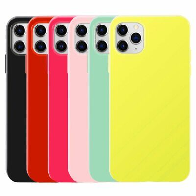 Candy Color Slim Thin Soft TPU Silicone Jelly Case Cover For iPhone 11 Pro Max