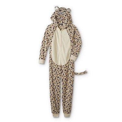 Leopard Pajamas Onesie Plus Size 3X Womens One Piece Union Suit Hood Costume NEW (Plus Size Onesie)