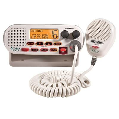 Cobra MRF45D VHF Class-D Marine Boating Radio NOAA Weather Channels Sea Tow®