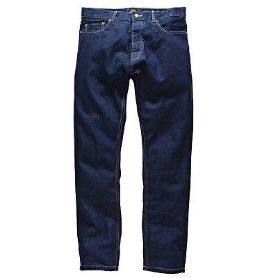 Dickies - Michigan Rinsed Pant Herren Denim Jeans Blau Schwarz Freizeit Regular