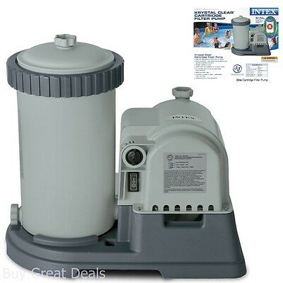 Pool Pumps And Filters Above Ground 2500 GPH Flow Rate Patio Lawn Garden (Best Above Ground Pool Filter)