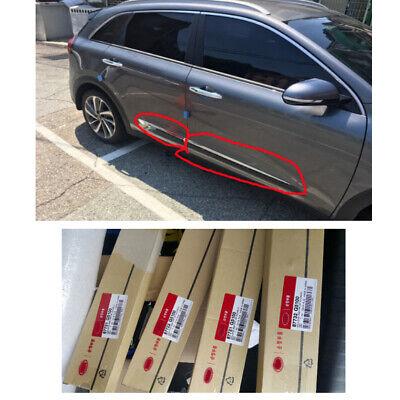 Genuine OEM Door CHROME MOULDING 4pcs Set 87721G5100 + for 2017+ KIA Kia Niro