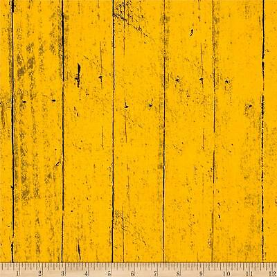 Jeepers Creepers Tonal Wood Plank Yellow Primitive Halloween Fabric Cotton](Jeepers Creepers Halloween Fabric)