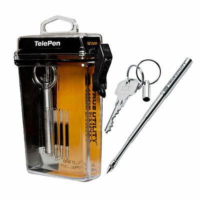 NEW NEBO True Utility TU246 TelePen Telescoping Pen Key Ring - USA SELLER